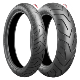 BRIDGESTONE BATTLAX ADVENTURE A 41 90/90-21 & 150/70R18 (70H) (COMBO)