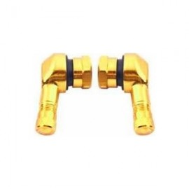 VALVE 90 DEGREE ALU GOLD (11.3 MM)