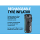 RING HANDHELD TYRE INFLATOR RECHARGEABLE