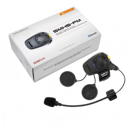SENA SMH5-MC-01 BLUE TOOTH & FM RADIO - SINGLE RIDER SYSTEM